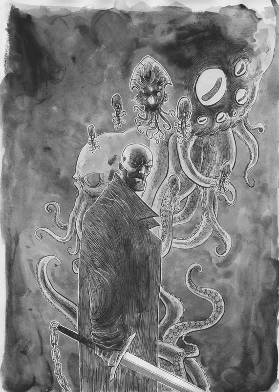 Image of THE SQUIDDER #1 COVER 2nd PRINT