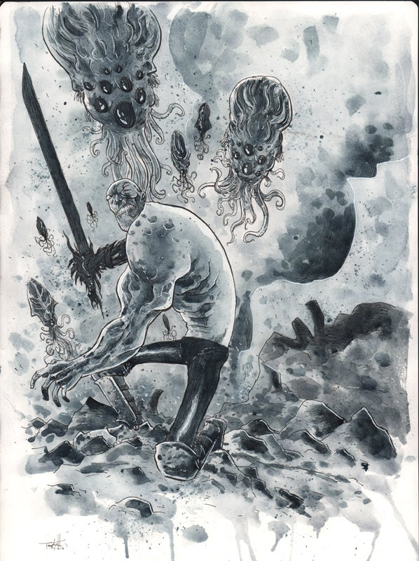 Image of THE SQUIDDER TPB COVER