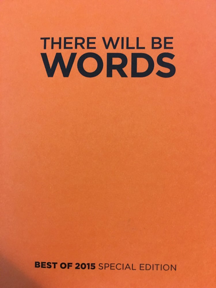 Image of Best of 2015 There Will Be Words Chapbook