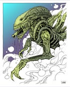 Image of ALIEN! art print