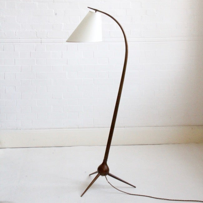 Image of Severin Hansen floor lamp for Haslev Møbelsnedkeri