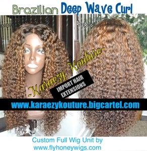 Image of Virgin Brazilian DEEP WAVE CURL  *Limited Stock*