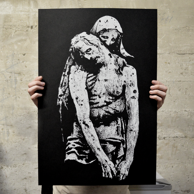"Image of ""Despair"" screen print -regular edition"
