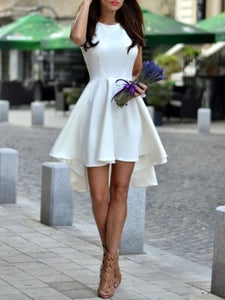 Image of HOT ELEGANT FRONT SHORT BACK LONG  DRESS HIGH QUALITY NOT THE POOR