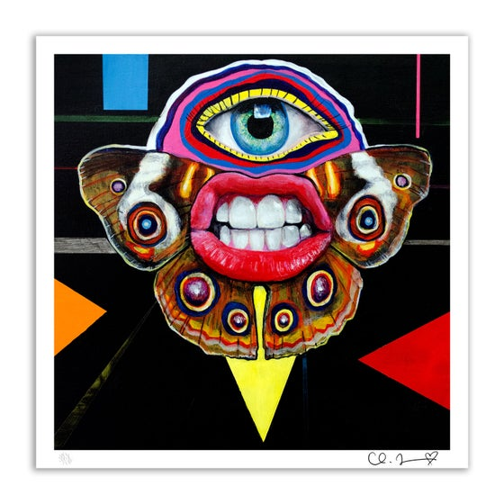 """Image of """"Courier I"""" 8.5""""x8.5"""" Giclee Fine Art Print (Open Edition)"""