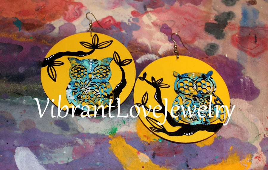 "Image of ""Nocturnal Love"" Earrings!"