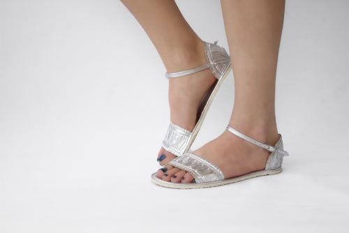 Image of Sandals - Silver - Wedding sandals
