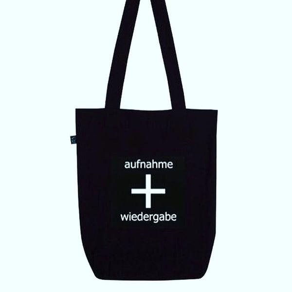 Image of aufnahme + wiedergabe Logo Tote Bag