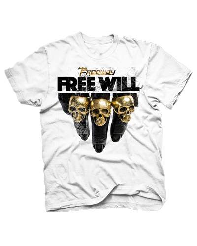Image of Free will Skull Tee