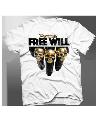 Image of Free will Skull Tee