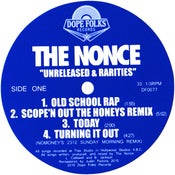 """Image of THE NONCE """"UNRELEASED & RARITIES"""" (BLACK VINYL VERSION)"""