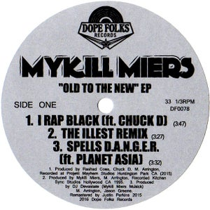 "Image of MYKILL MIERS ""OLD TO THE NEW"" EP (Black Vinyl Version)"