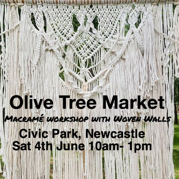 Image of Macramé workshop - Olive Tree Market