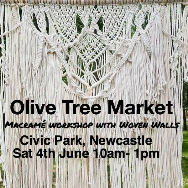 Image of Macramé workshop - Olive Tree Market