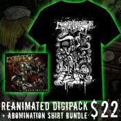 Image of Reanimated Digipack + Abomination Shirt Bundle