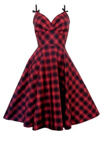 Image of LoLa in Plaid