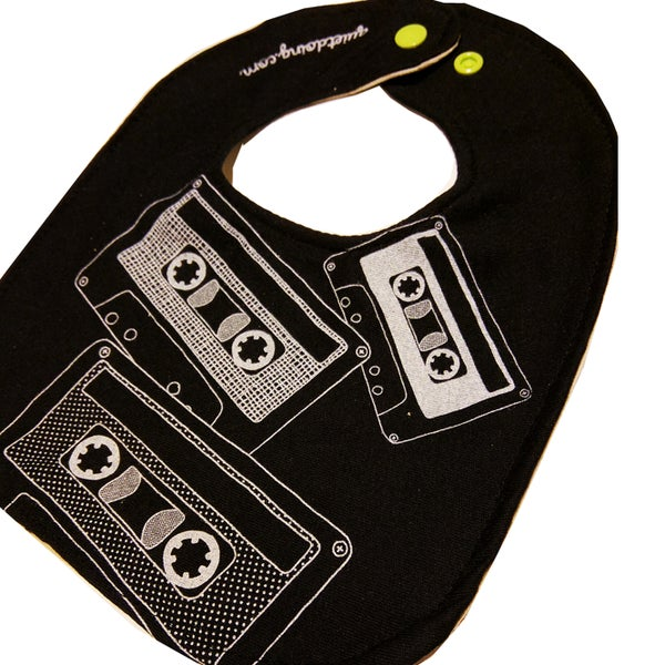 Image of Cassettes ) Baby's Bib