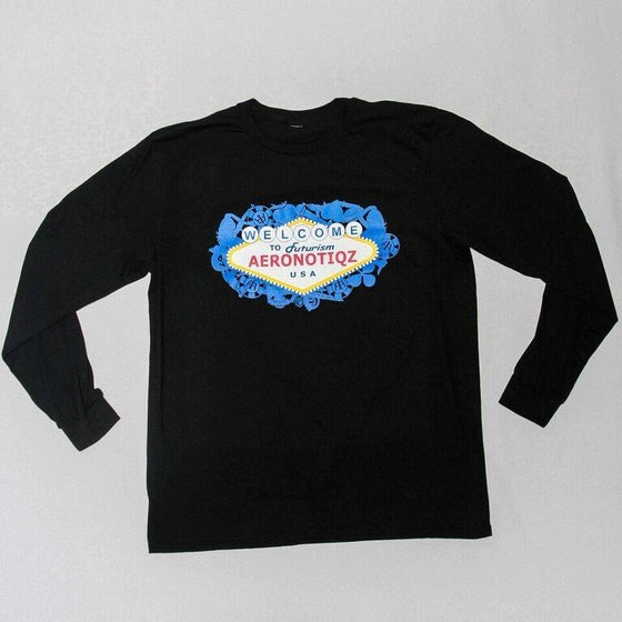 "Image of Black ""Futurism"" Long Sleeve Tee"