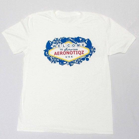 "Image of White ""Futurism"" Tee Shirt"
