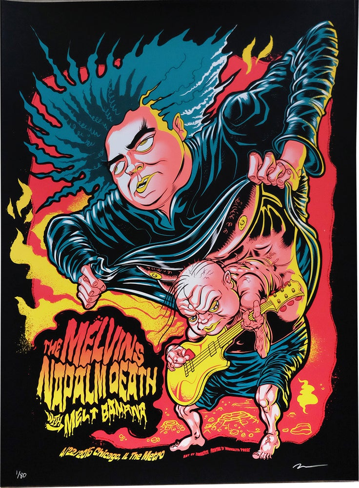 Image of Melvins, Napalm Death, Melt-Banana Chicago 2016