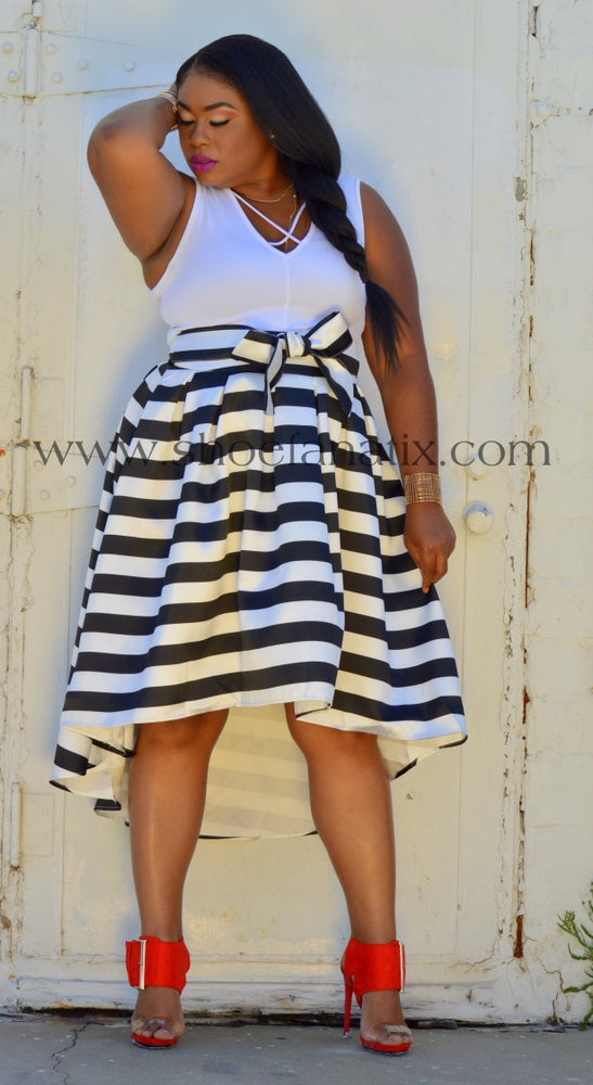 Image of BOBBI Hi Lo Skirt