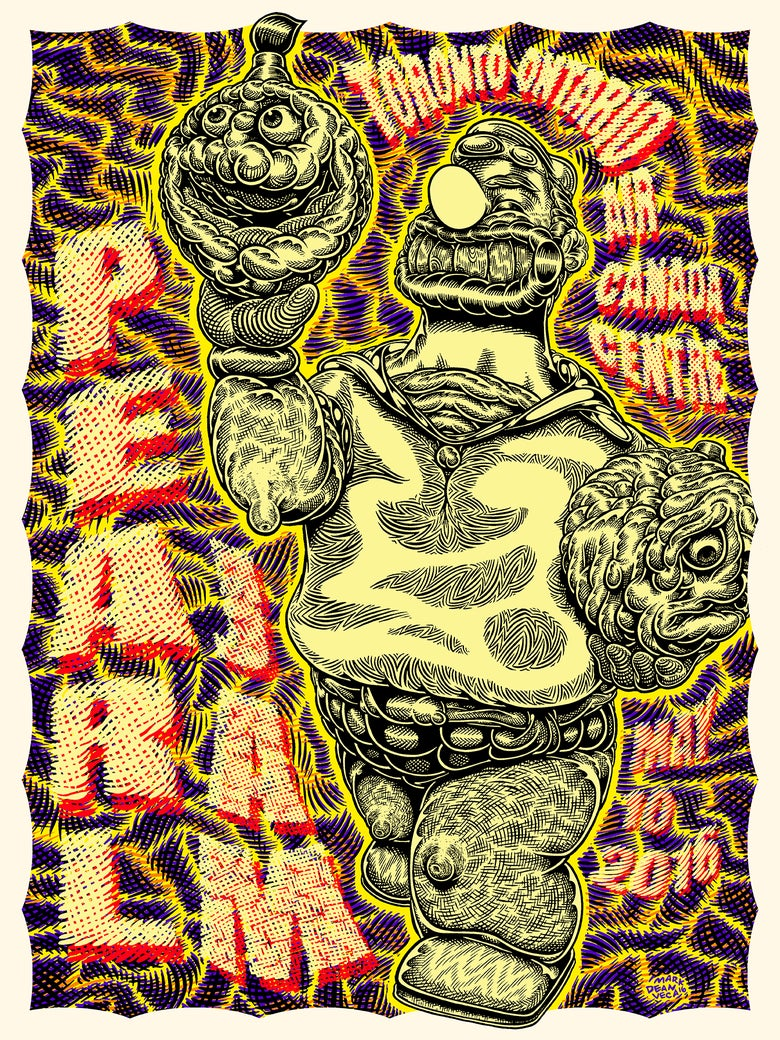 Image of Pearl Jam Tour Poster: Pearl Jam Bluto (Artist's Proofs)