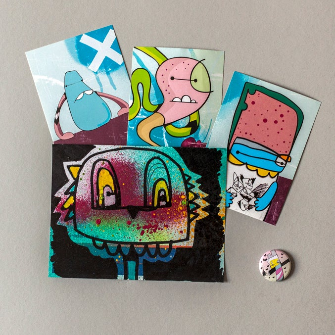 Image of Sticker / Badge Pack 18