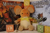 Image of Mouse Guard Lieam plush - PRE-ORDER