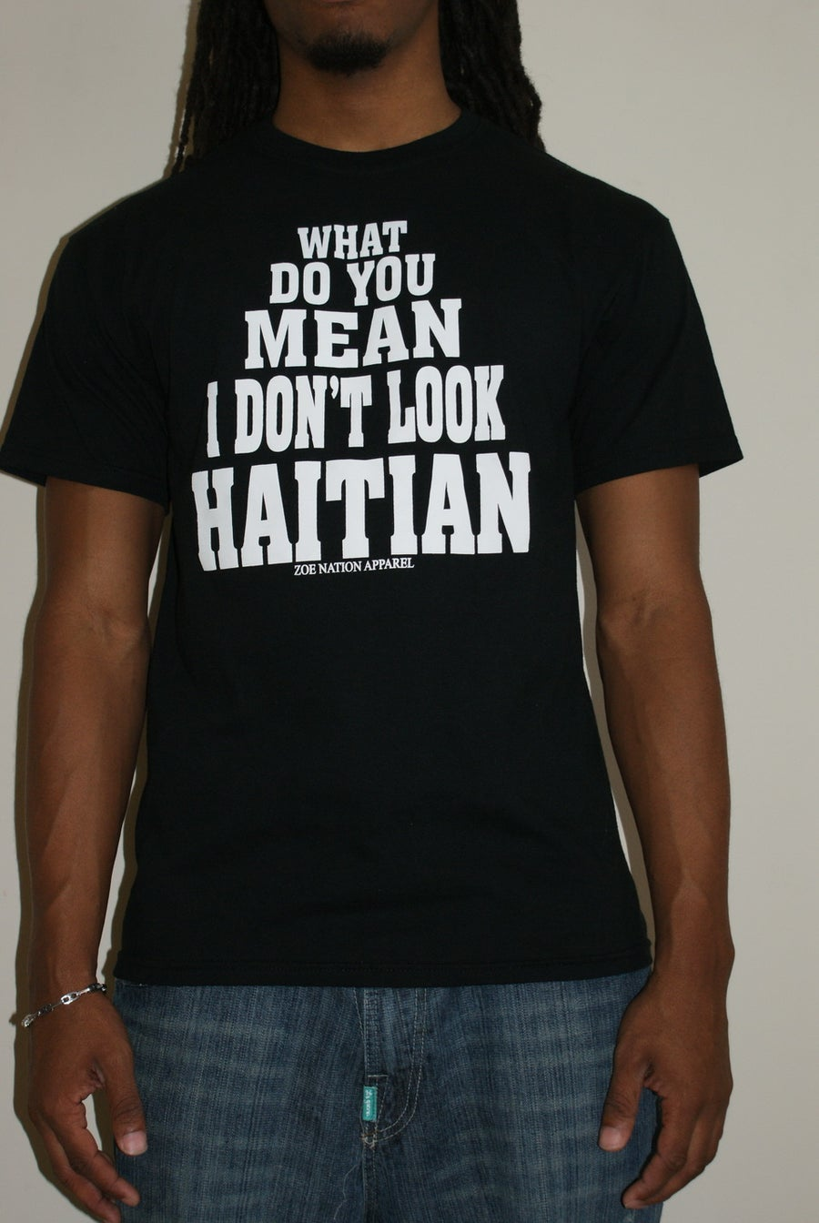 Image of You Don't Look Haitian Men