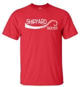 "Image of Shipyard Skates ""Tentacle"" T-Shirt RED"