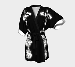 Image of TIS Chinese Tattoo No Amends KIMONO ROBE **