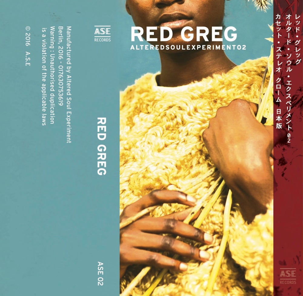 Image of ASE02-CASS MIXED BY RED GREG - JAPAN