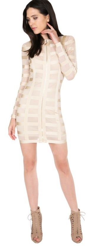 Image of I Know You See Me Caged Dress
