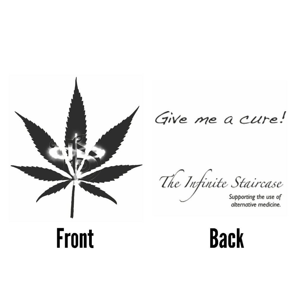 "Image of TIS Potleaf ""Give Me A Cure""  T-Shirt *"