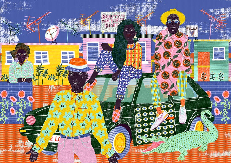 Image of *Limited Edition* Soweto Print
