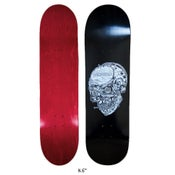 """Image of Confusion Skate-Life Skull deck (8.25"""", 8.6"""", 8.75"""", 9"""")"""
