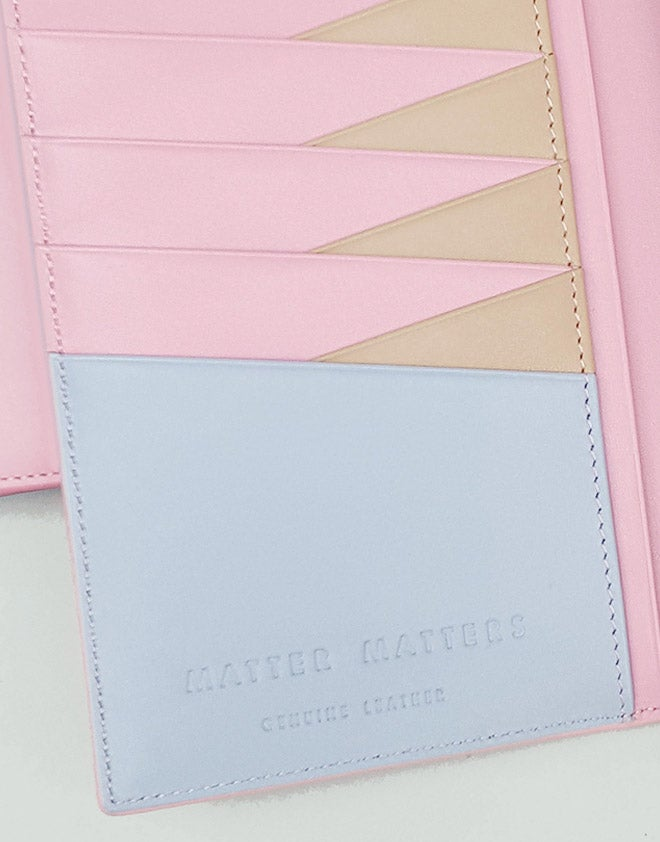 Image of The M Long Wallet - Pink