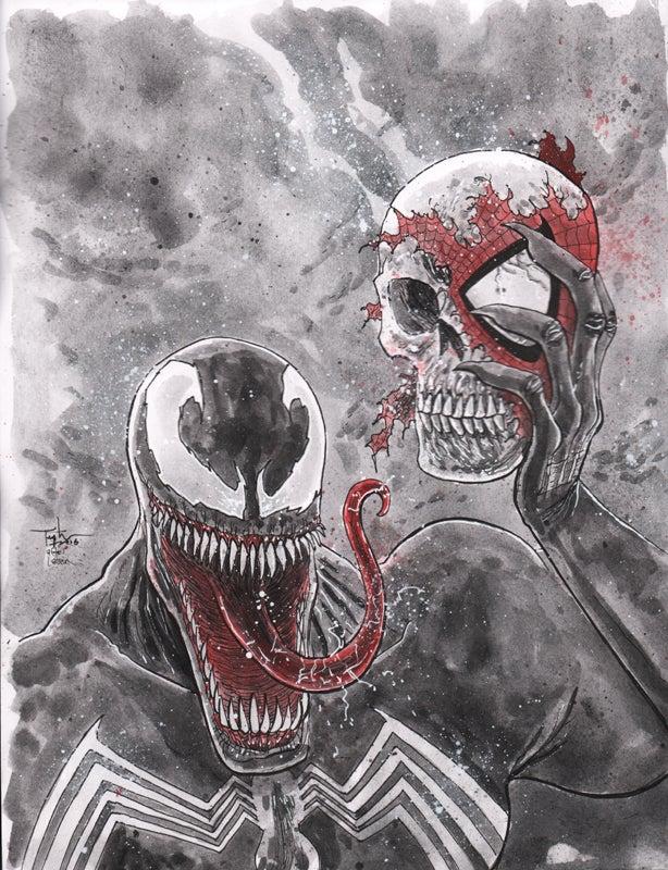 Image of AMAZING SPIDER-MAN #347 Homage