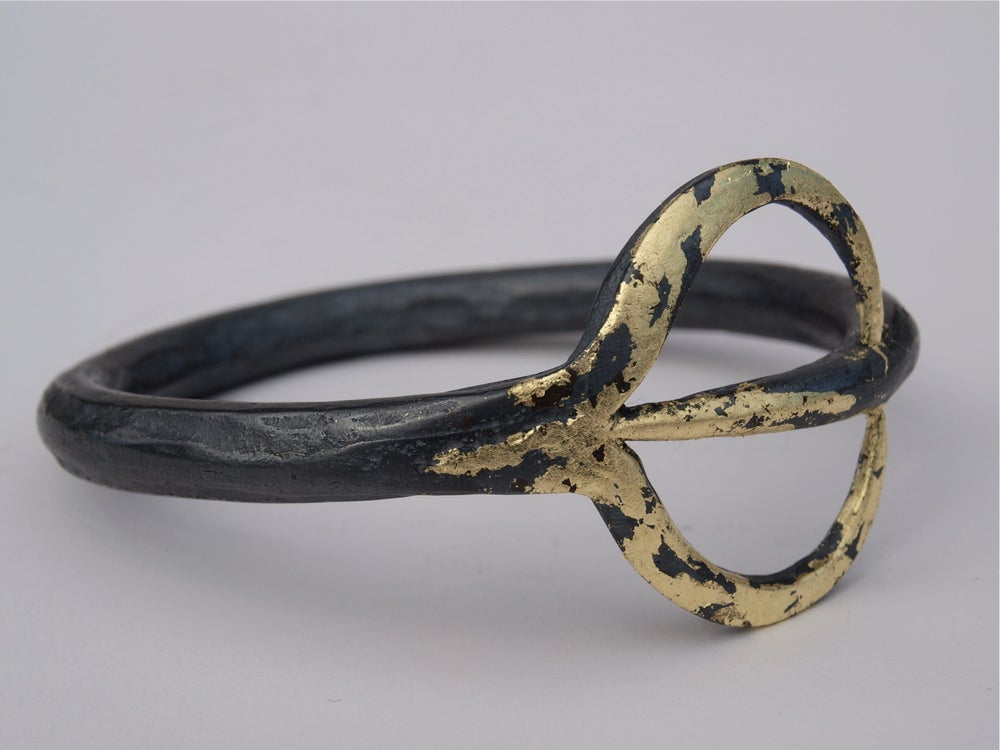 Image of LIMITED COLLECTION OF 100 FORKED^TONGUE BANGLE AS WORN BY DAENERYS TARGARYEN IN GAME OF THRONES