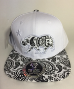 Image of CA WHITE SNAP BACK HAT