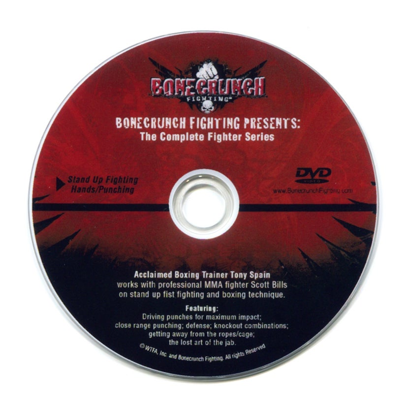 Image of The Complete Fighter Series DVD
