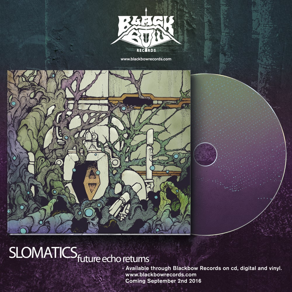 Image of SLOMATICS - Future Echo Returns CD