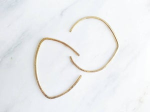 Image of Simple Shapes Brass Cuff Bracelet