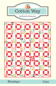 Image of Mondays PDF Pattern #997