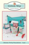 Image of Stitchin' Pretty Pincushion Paper Pattern #996