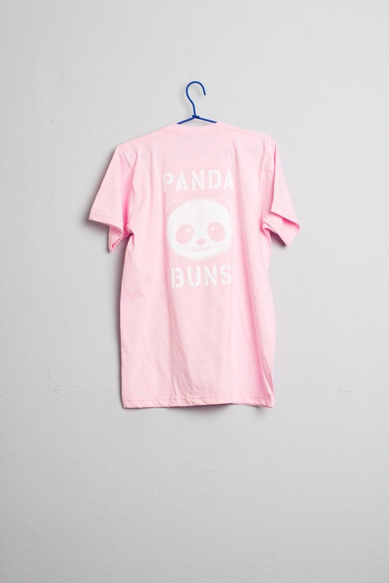 Image of Panda Buns Pink Season T-Shirt