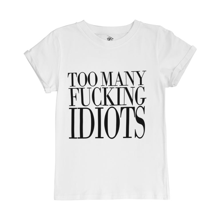 Image of TMFI white tshirt
