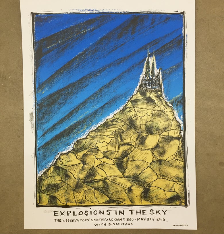 Image of Explosions in the Sky San Diego Poster