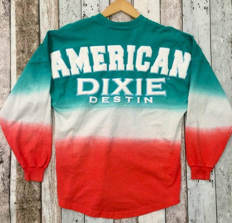 Image of American Dixie: Tie Dye Jersey