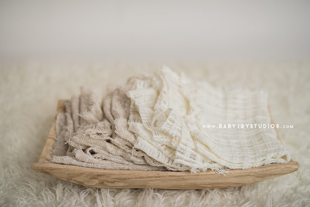 Image of Vintage Layers   Mini Blankets
